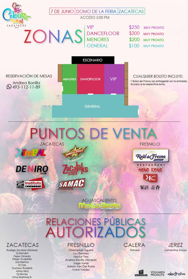Electric Colours Festival Zacatecas