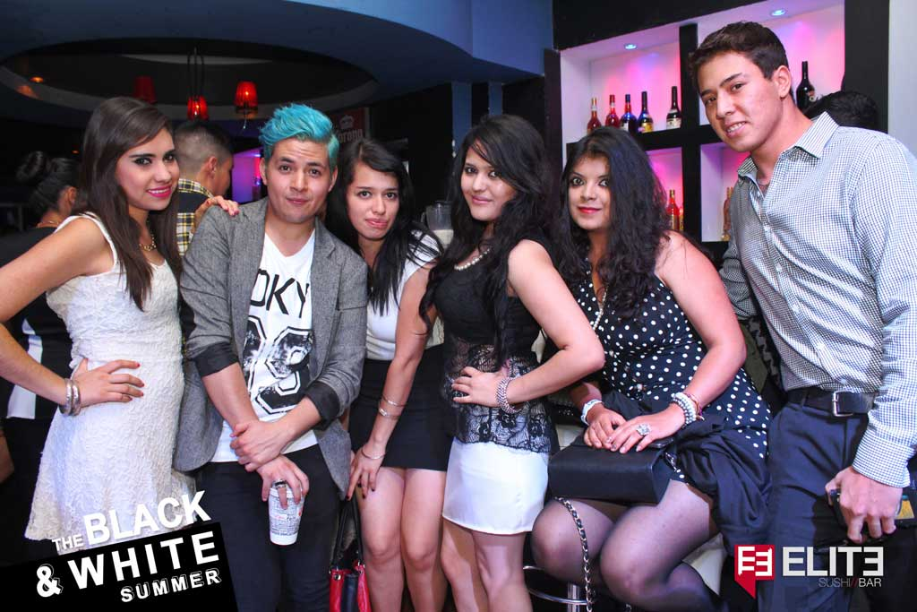 Galería The Black & White Summer en Elite bar