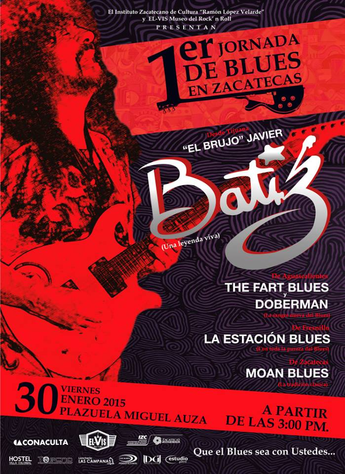 1er Jornada de Blues en Zacatecas