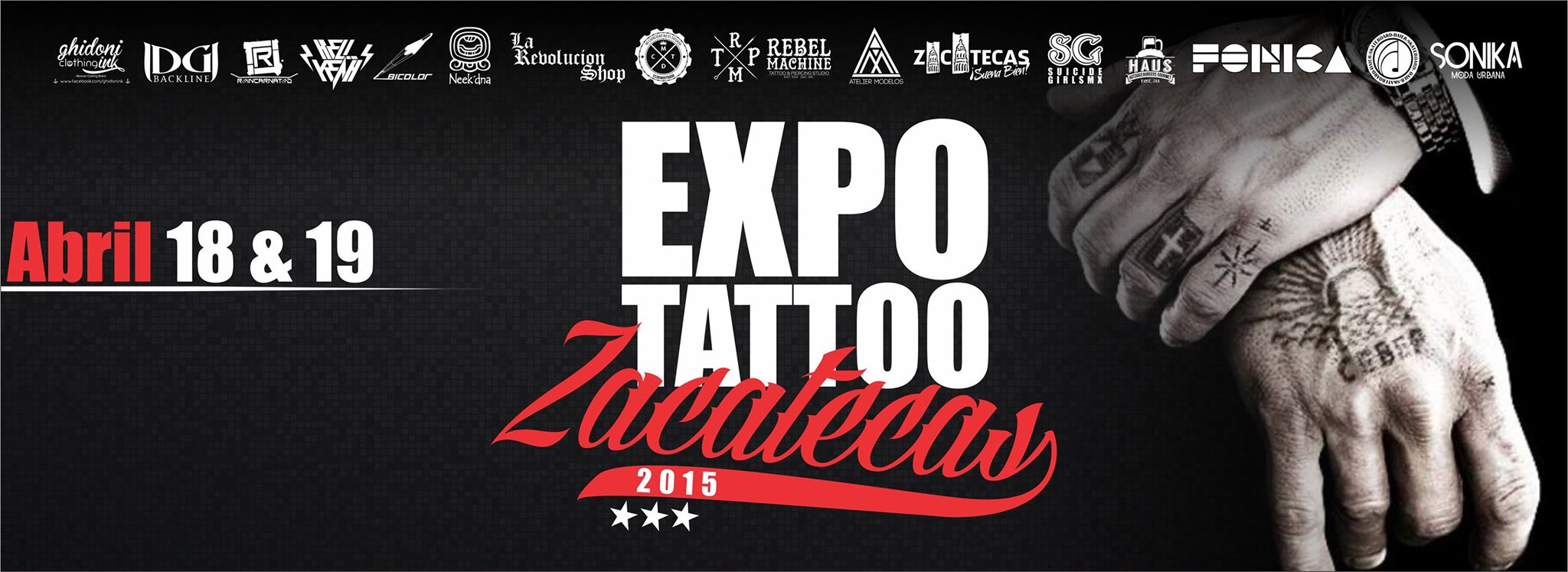 Expo Tattoo & Piercing Zacatecas 2015