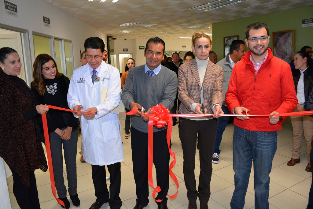 Inaugura Alcalde el Módulo de Registro Civil en el Hospital General