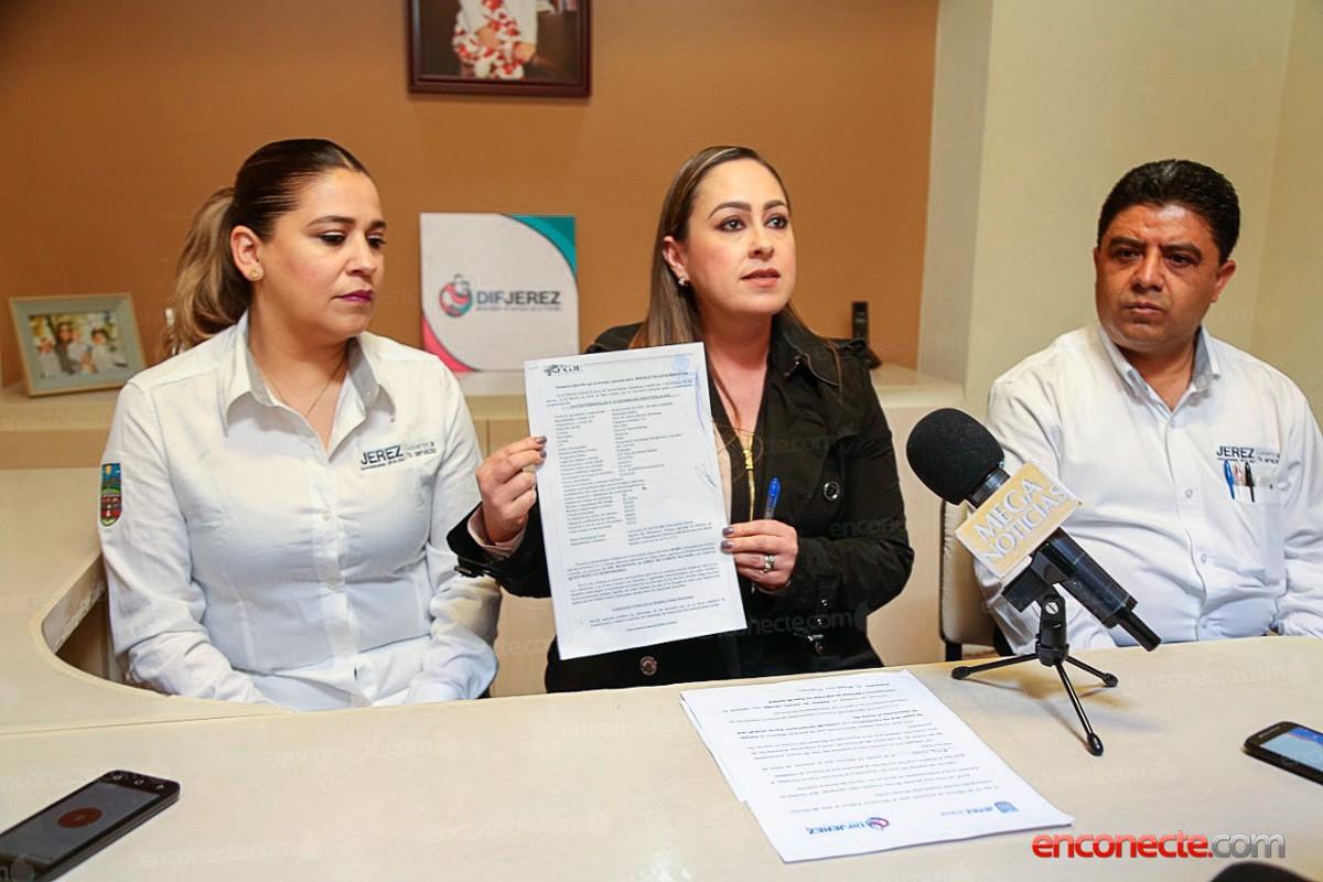 Interponen denuncia por robo al DIF Municipal de Jerez